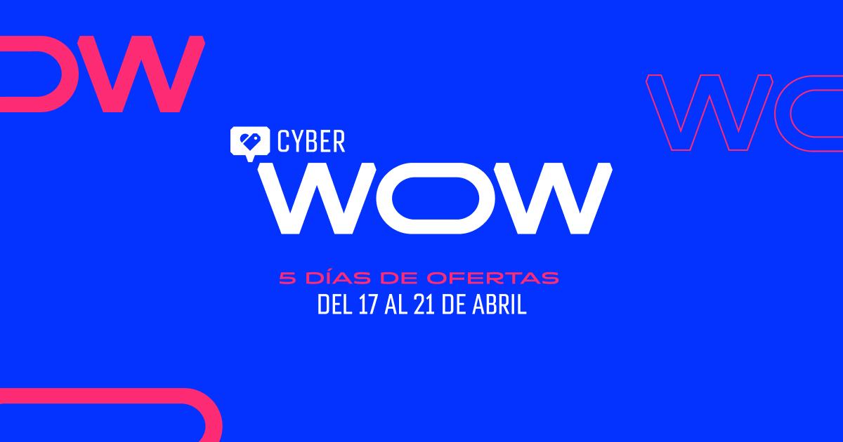 CyberWow 2020 - 5 días de super ofertas online